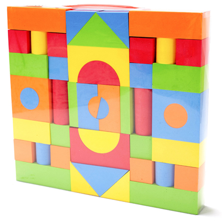Wholesale educational supply foam EVA toy building block