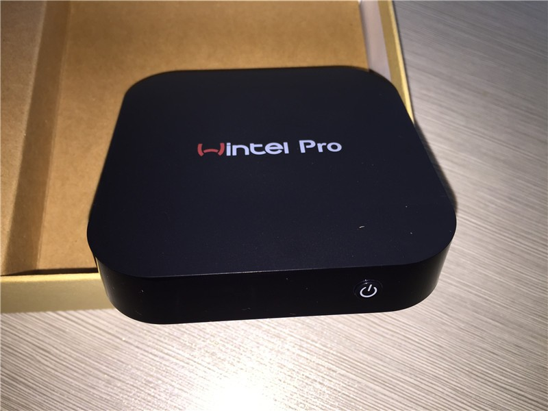 Wintel CX-W8 Pro Mini Smart TV Box Windows10 casa OS 2 GB / 32 GB Wintel Pro BT4.0 RJ45 100 M LAN mini pcs w8 pro