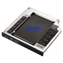 12.7mm Laptop secondo <span class=keywords><strong>Sata</strong></span> A <span class=keywords><strong>Sata</strong></span> <span class=keywords><strong>HDD</strong></span> Frame Caddy Adattatore Bay per Dell per HP CD/DVD-ROM Optical Disco Rigido
