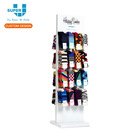 Custom Top Quality Shop Fittings MDF Veneer Solid Wood Socks Display Stand