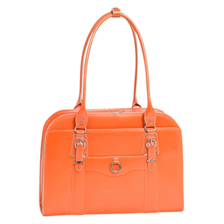 McKleinUSA Wenonah 96669 Pink Leather Ladies Briefcase McKleinUSA Wenonah 96669 Pink Leather Ladies/' Briefcase Mcklein USA