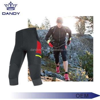 5a885a341b Men's Fitness Sports Leggings For Running Compression Basketball Tights  High Elastic Jogging Training Wear