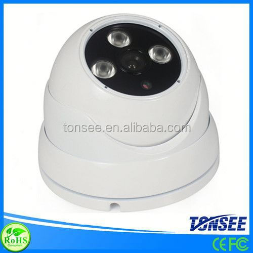 2014 New IR Waterproof 35m Night Vision Full HD 1/3 Sony CCD Dome CCTV Camera spare parts for video