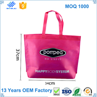 Promotional cheap logo shopping bags
