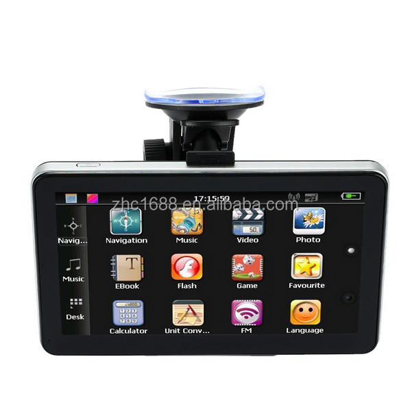 7inch car gps,New design car gps player