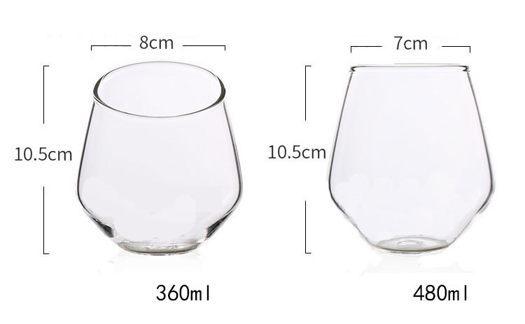 Double Wall Glass Coffee Cup Insulated Borosilicate Glass Mug for Tea Beer Glass Wine Cups