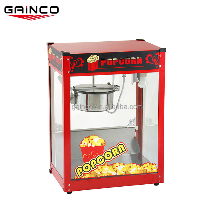 Factory supply industrial popcorn making machine price