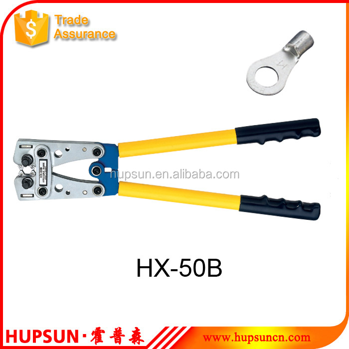HX-50B 6.0-50mm2 CU terminal hand copper tube crimping tool