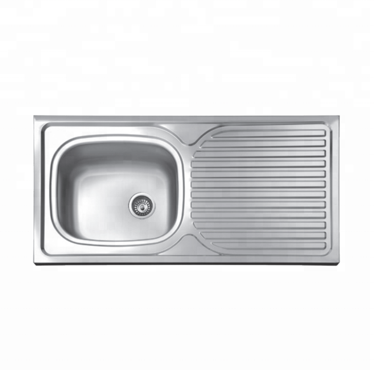 First Class Cheap Kitchen Sink Malaysia Kitchen Steel Sink Single Bowl With  Drainboard Sink - Buy Stainless Steel Sink For Kitchen,Ss 202 Kitchen ...