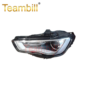 Custom made xenon hid headlights scratch proof head lamp / light for Audi A3 2013-2106 8V0941043 / 8V0941044