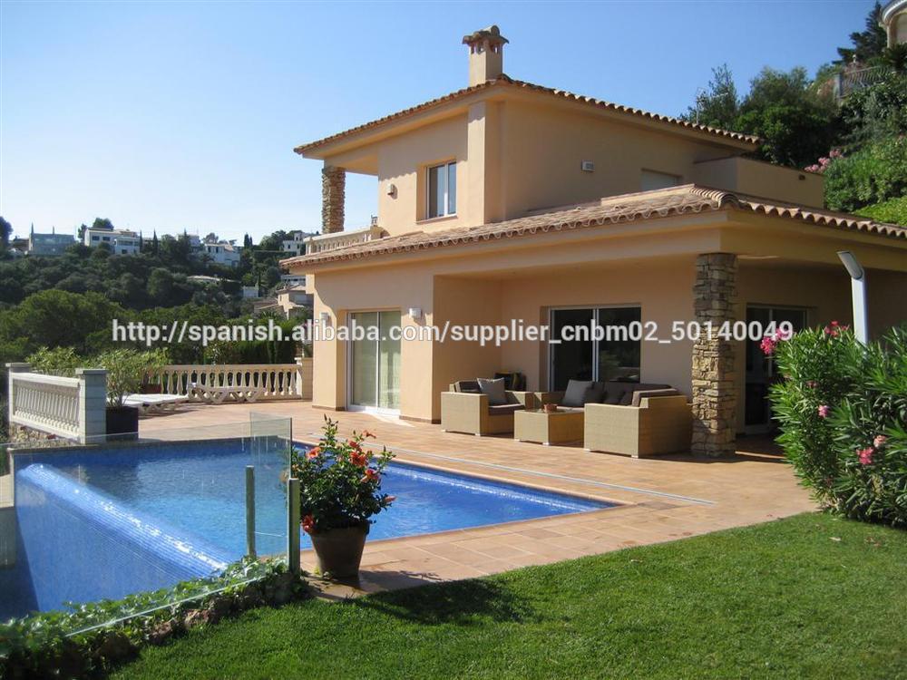 Casa prefabricada lujoda de estilo mediterraneo villa - Casas prefabricadas mediterraneas ...