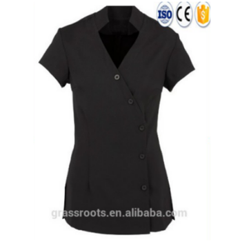 Fashion Design 100 Cotton Beauty Salon And Spa Uniform Custom With Nail
