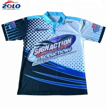 2019 New design sublimated mens high quality polo t shirt oem service