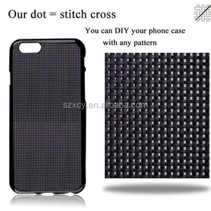 Alibaba stock diy cross stitch soft TPU mobile phone case for iPhone 6 7 8 plus