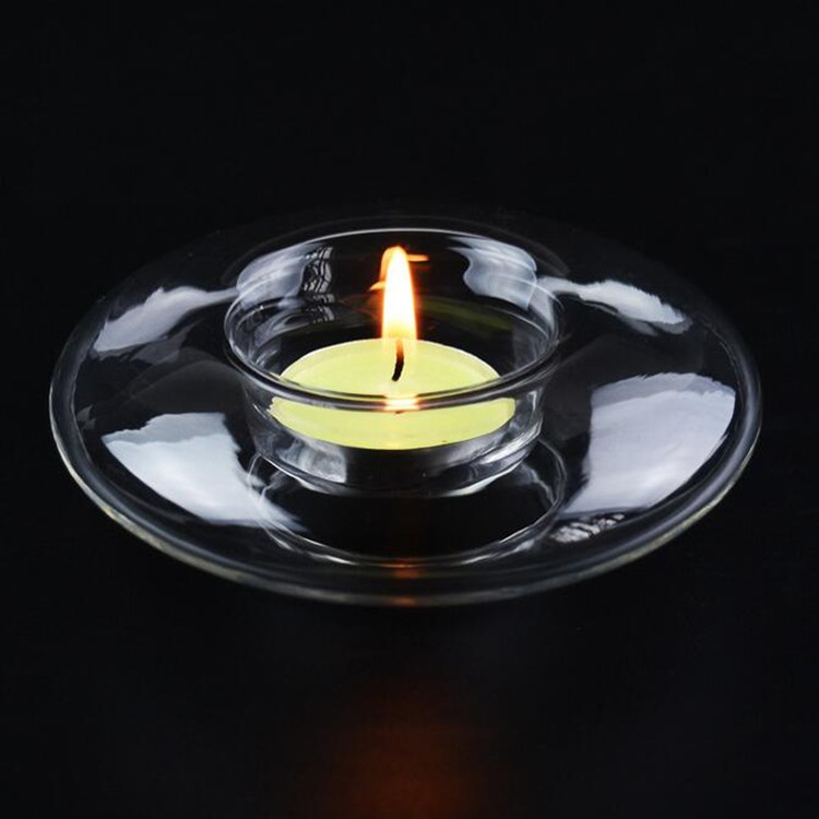 Wholesale promotional votive crystal glass tealight candle holder for wedding/ home/table decoration