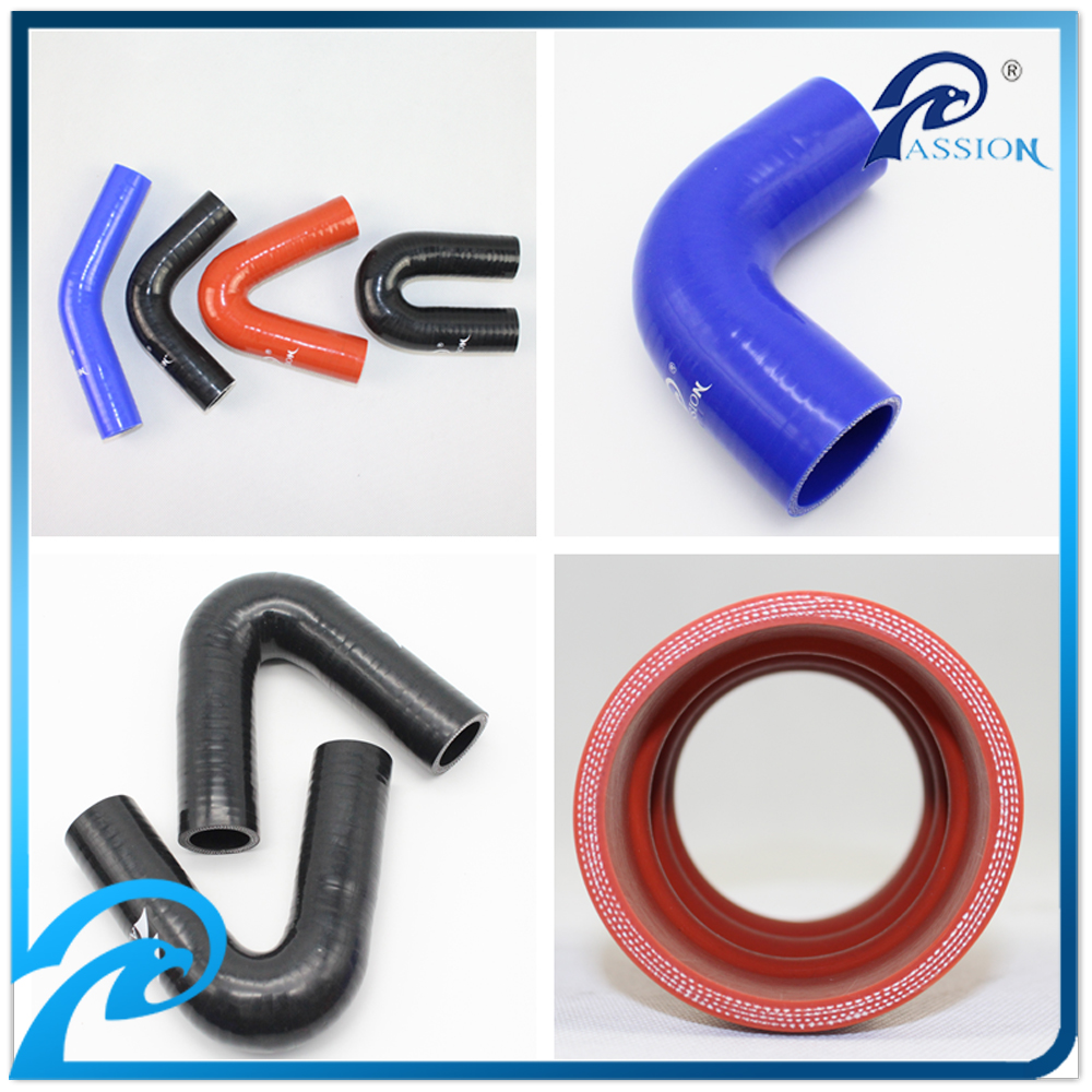 Flexible 45/90/135/180 Degree Elbow Silicone Rubber Hose