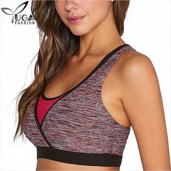 0b88b868e74 Big Breast Latest Polyester Spandex Women Sports Yoga Bra - Buy ...
