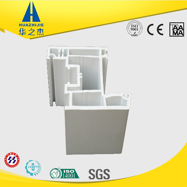Golden quality extrused upvc window pvc profile co-extrusion frame