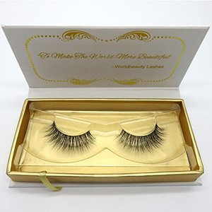 Luxurious Real Mink 3D Eyelashes Natural Volume Cross Thick False Eye lashes