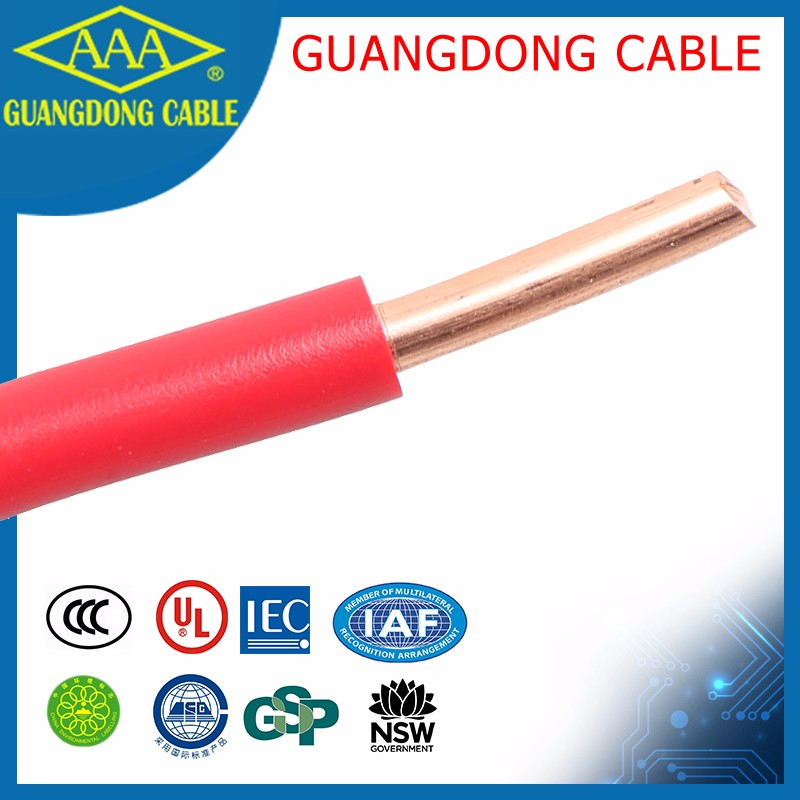 2mm Copper Wire Single Solid Core Bv Cable 2.5mm 1.5mm Electric Wire ...