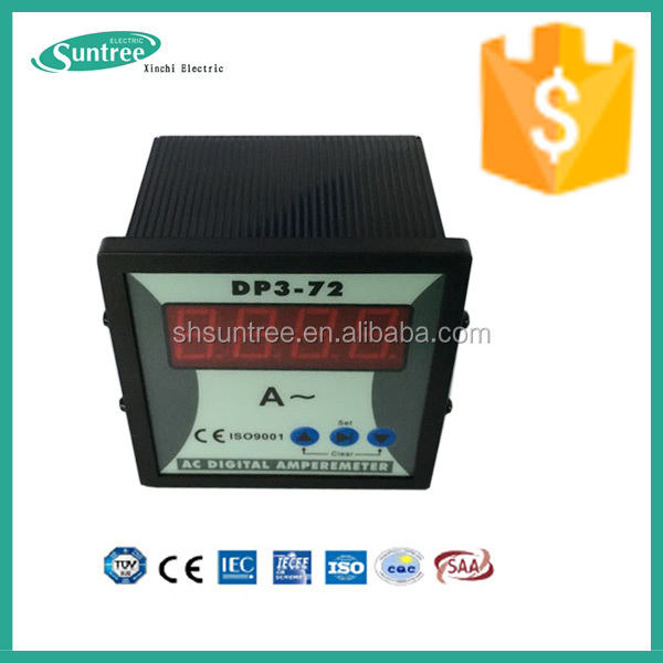 Hot sell CE Electric AC 3 phase 220V 400V Digital Voltmeter ( Voltage meter ) 48x48 72x72 96x96 120x120 made in china