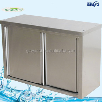 Upper Kitchen Wall Mounted Cabinet With Sliding Doors In Singapore Engineering Storage Factory