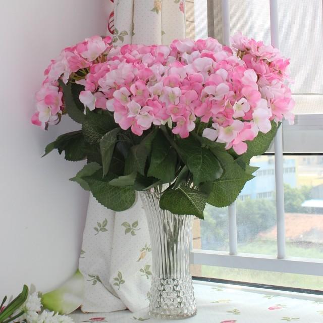 Big Single Bouquet Pink Hydrangea DIY Bridal Bouquets ...