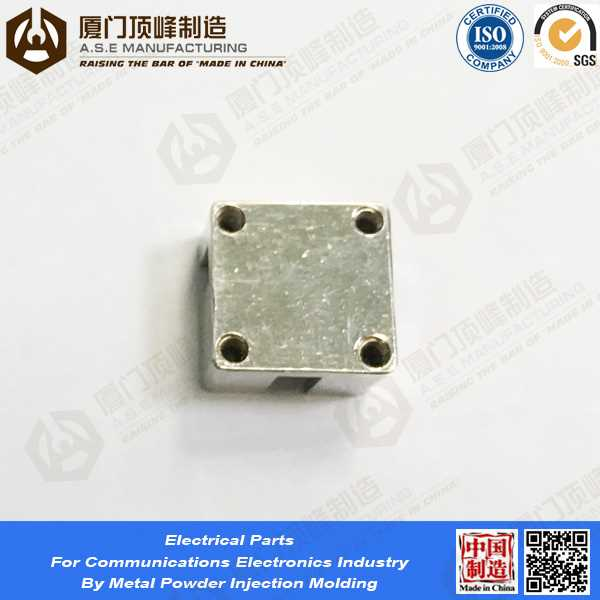 OEM Service MIM Parts by metal powder injection molding tungsten alloy spare part