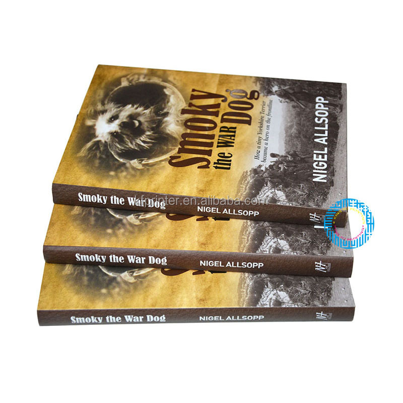 High quality embossing thick offset hardcover book printing