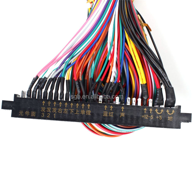 Standard cabinet jamma board wiring harness for 60 in 1 pcb game board