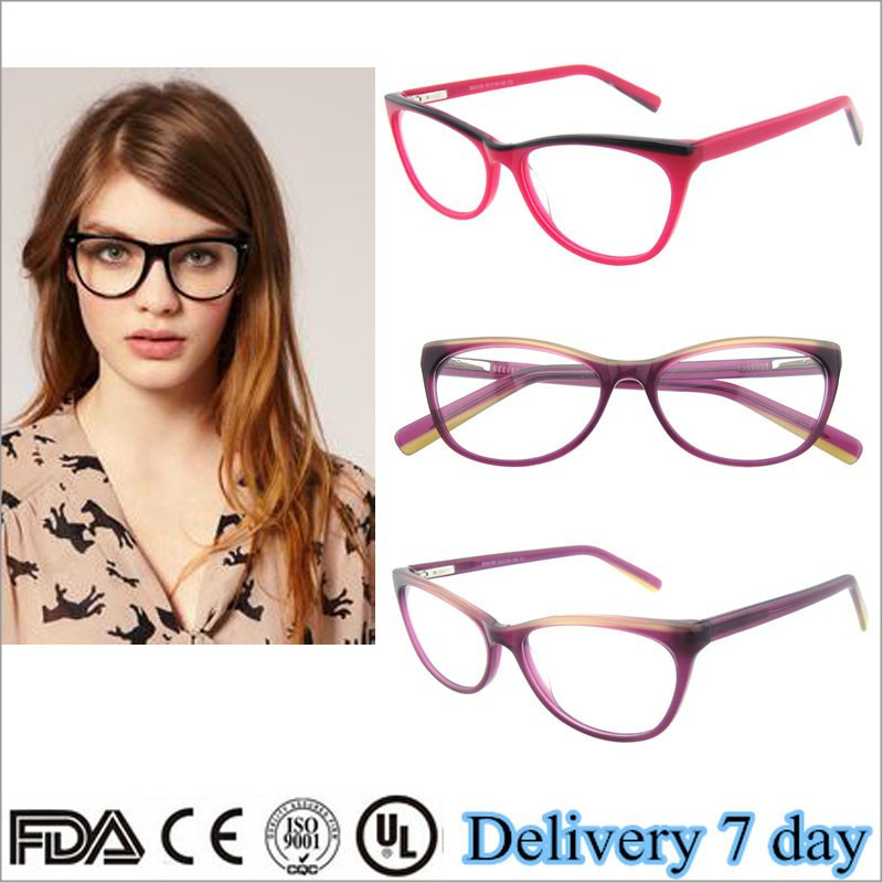 latest eye frames  Wholesale 2015 latest eye frames women fred eyeglasses fashion cat ...