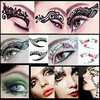 sticker tattoo temporary tattoos make up eye tattoo sticker eyeliner sticker