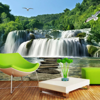 3d natural wallpaper 3d customized wall paper 3d wall mural vinyl wallpaper