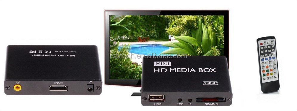Full Hd Advertisement Media Player With Hd-Mi External Hard Drive Support Autoplay -6934