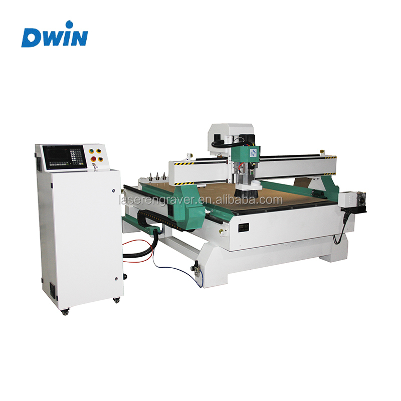 3D 3 axis 4 axis ATC 1325 Wood Cnc Router carving Machine , CNC Woodworking Router