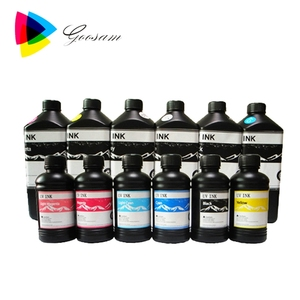 Low price uv ink price for Fuji Acuity Advance printer led uv ink