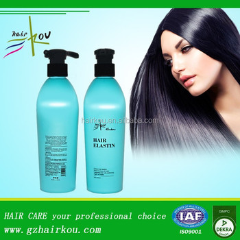 Silk Protein Private Label best Hair Elastin Product for curly hair