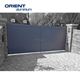 Black Powder Coated Aluminium Profile for Aluminium Sliding Gate