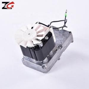 High speed variable speed worm ac single phase gear motor with small ac electric motor right angle gearbox low rpm 60RPM 35-40W