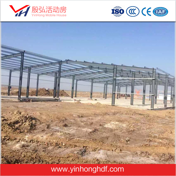 Industrial Steel Frame Sheds Accessories Herringbone Beam Colorful Strong Work Place Safety