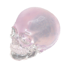 Alibaba Express Unique Transparent Resin Wholesale Halloween Skull