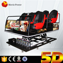 Amusement Park 5d Cinema Theater Movie For South America Market