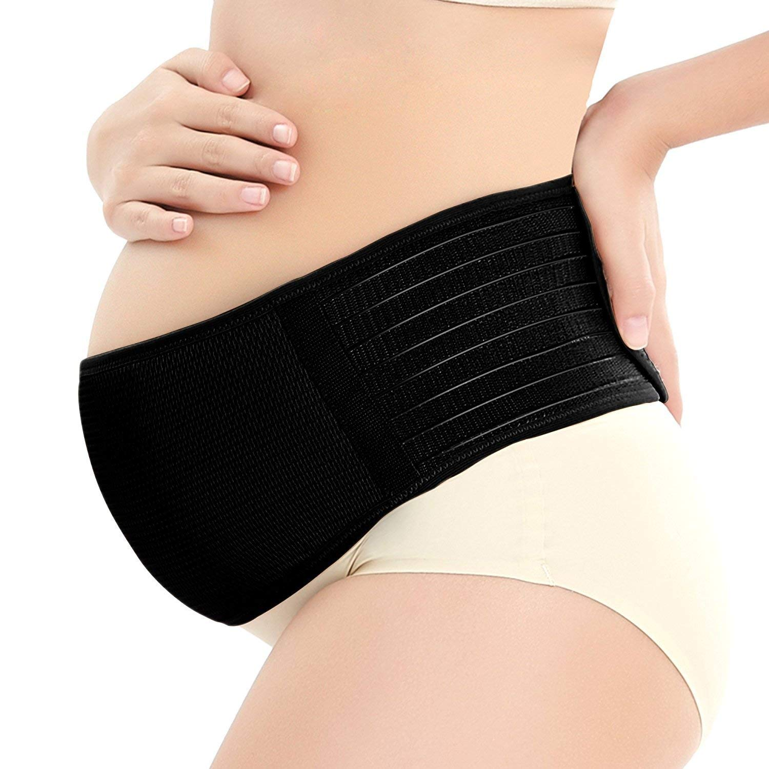 04b7cb3acda Get Quotations ·  Upgraded  BUENAVO Maternity Support Belt Lower Elastic  Back and Pelvic Support Belt for Pregnant