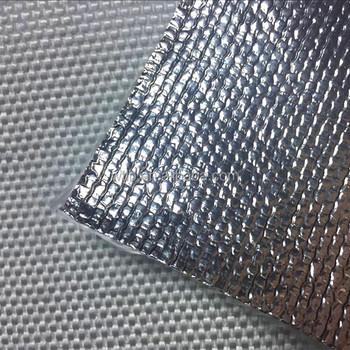 Heat Insulation Glass Fibre Cloth With Aluminum Foil Coating 1mm~2mm - Buy  Aluminum Coated Fiberglass Fabric,Aluminum Foil Fiberglass Insulation