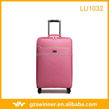 Hot selling cool business fashion kindly business woman leather luggage/president luggage/female luggage