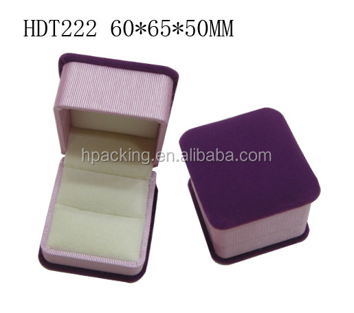 Wholesale Velvet Ring Box Manufacturer