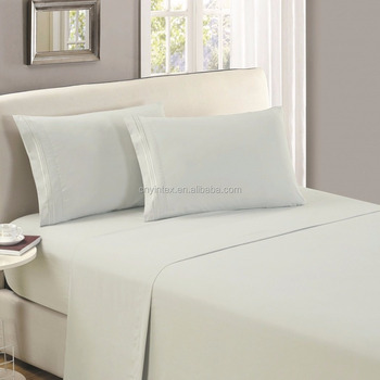 HIGHEST QUALITY Queen Brushed Microfiber 1800 Bedding Top Sheet - Wrinkle, Fade, Stain Resistant - Hypoallergenic