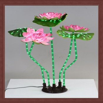 Led Artificial Lotus Flowers/led Optical Fiber Lotus Flowers Light ...