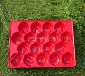 disposable PET/PP/PVC thermoforming insert tray fruit tray