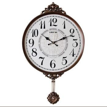 db31e9bd63f4 Pendulum Antique Clock Wall Clock Wall Decor Timepiece Home Decor BD8289GE.  View larger image